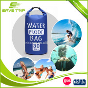 30L PVC Double Strap Backpack Waterproof Dry Bag Sports Goods for Outdoor Sports